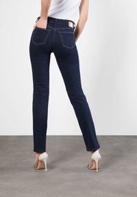 MAC Jeans - ANGELA  - Slim fit jeans - dark-blue denim - 1
