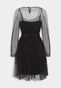 Love Copenhagen - LCASTRID DRESS - Cocktail dress / Party dress - black/brown - 1