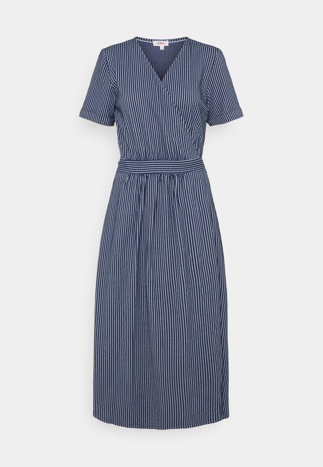 Hverdagskjoler - dark blue stripes