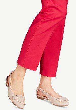 Ballet pumps - cashmere