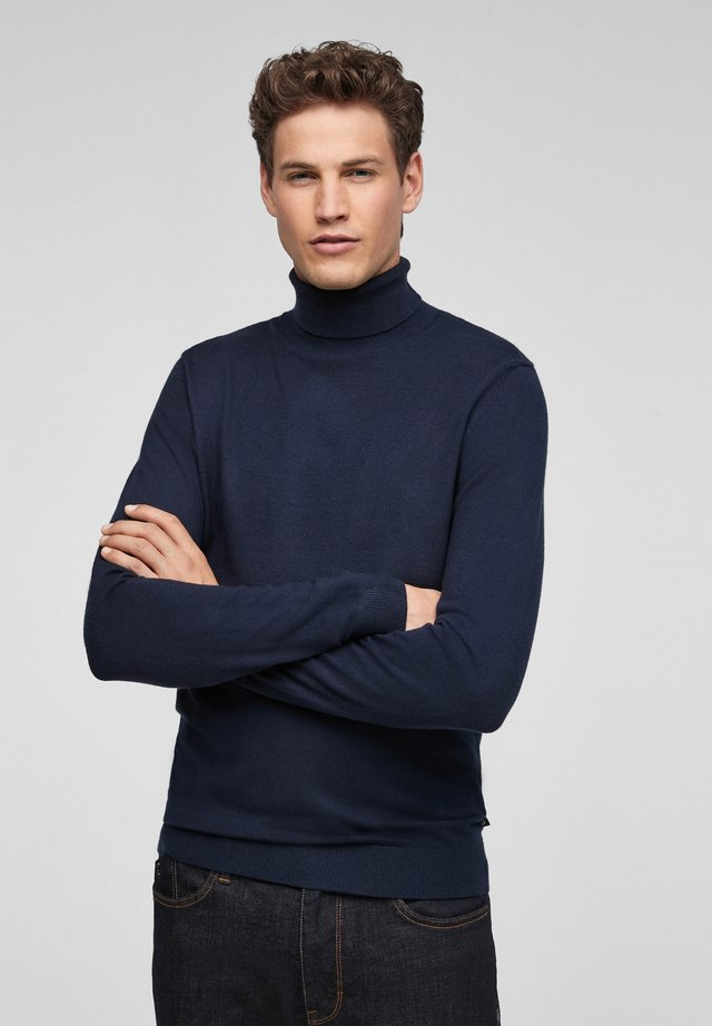 MIT TURTLENECK - Trui - dark blue