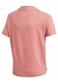 adidas Performance - 3 STRIPES ATHLETICS LOOSE - T-shirt print - pink - 1