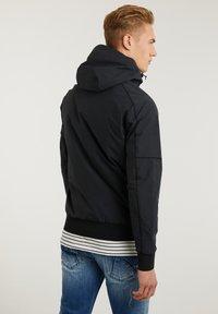 CHASIN' - Summer jacket - black - 1