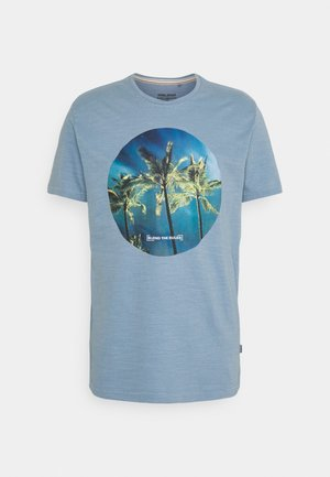 TEE - T-shirt con stampa - faded denim