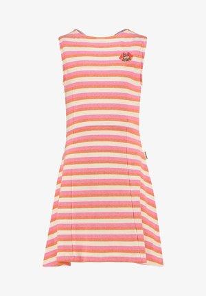 PERLIA - Jersey dress - warm pink