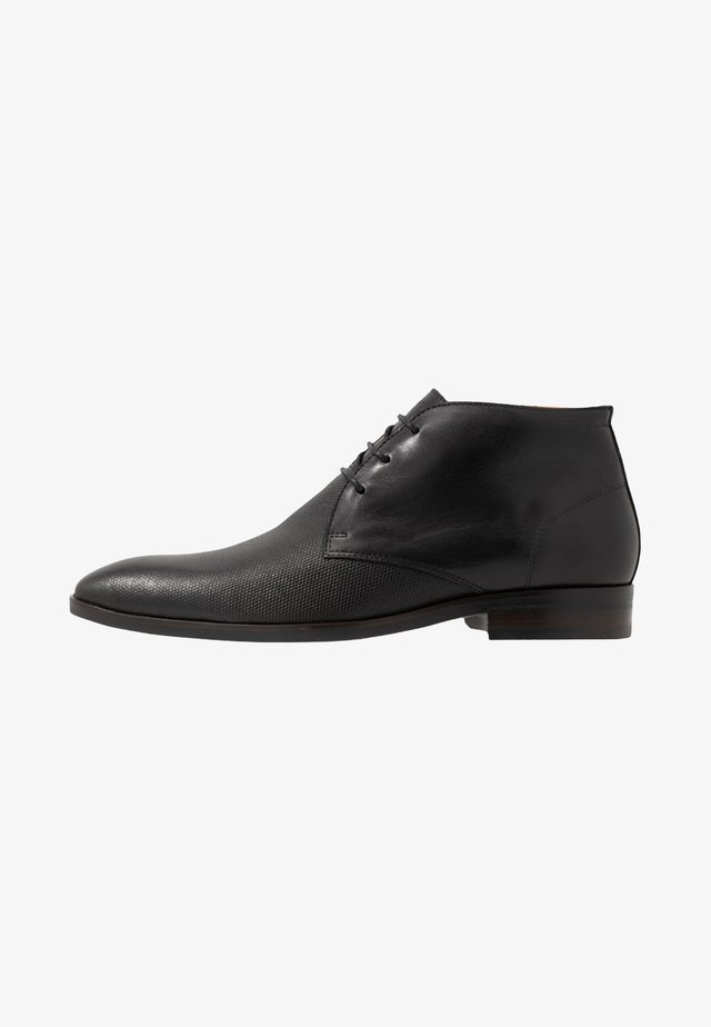 RELOS - Smart lace-ups - black