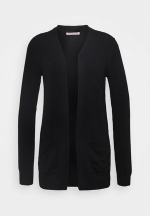 BASIC- Pocket cardigan - Kofta - black