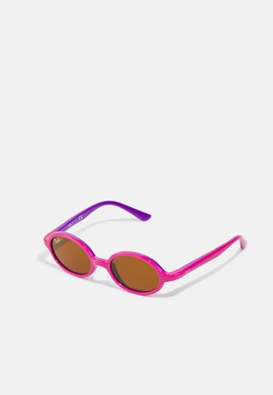 JUNIOR UNISEX - Sluneční brýle - fucsia on violet