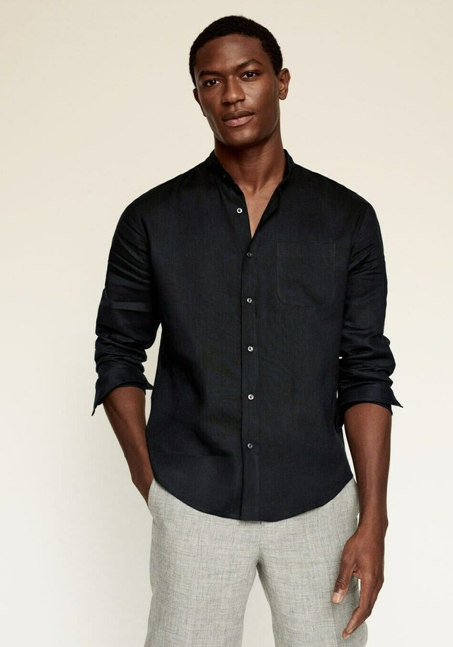 SLIM FIT  - Shirt - zwart