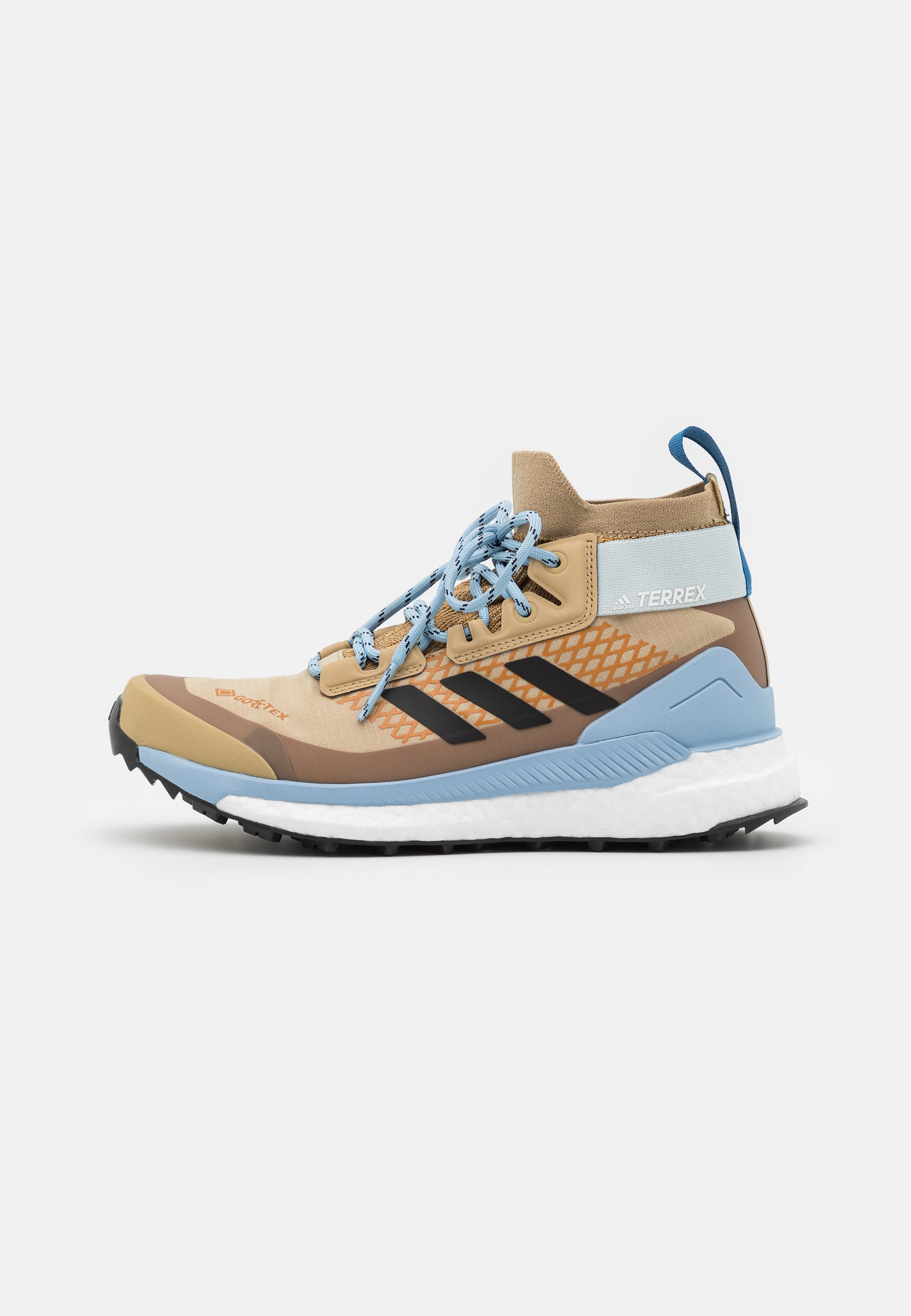 Women TERREX FREE HIKER GORE-TEX - Hiking shoes