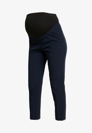 OVERBUMP ANKLE GRAZER - Trousers - navy