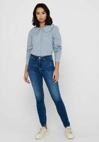JDY - Button-down blouse - coronet blue - 1