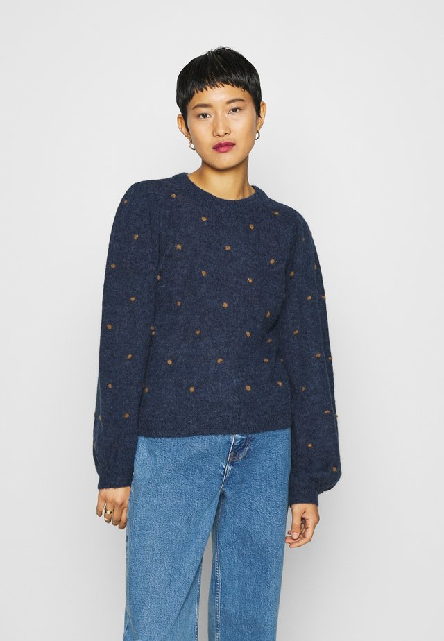 ASTANGZ  - Pullover - peacoat