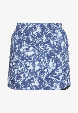 LINKS PRINTED SKORT - Sportovní sukně - blue frost/mod gray/blue ink