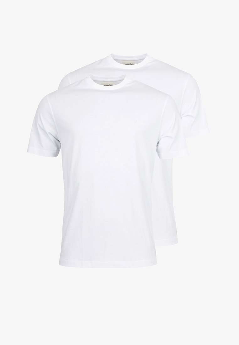Daniel Hechter - 2 PACK - Basic T-shirt - weiss