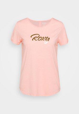 CALL IT DREAMING - Print T-shirt - peach bud