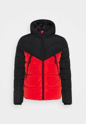 Winter jacket - flame scarlet