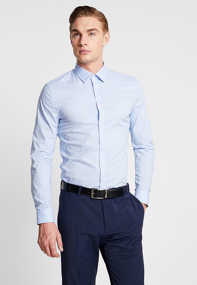 OLYMP - OLYMP NO.6 SUPER SLIM FIT - Koszula biznesowa - bleu