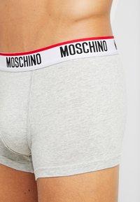 Moschino Underwear - TRUNK 2 PACK - Underbukse - grey - 4