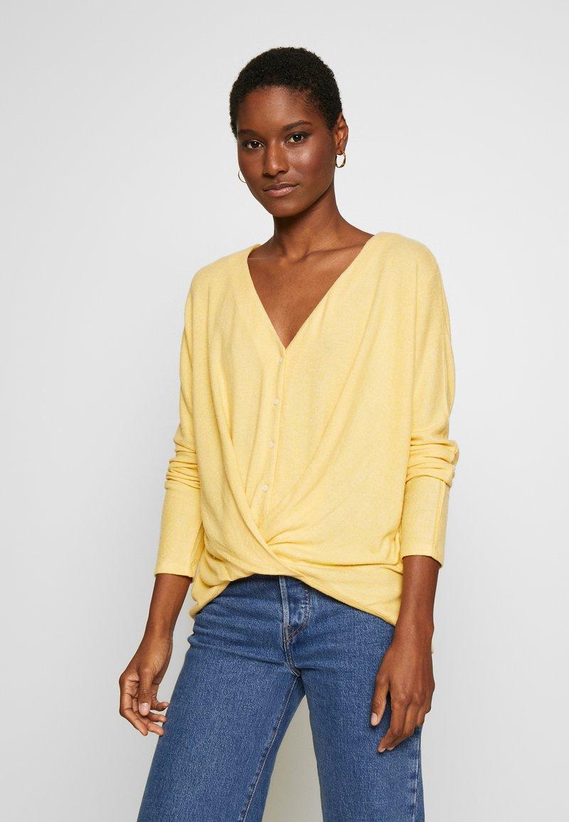 Esprit - Cardigan - dusty yellow