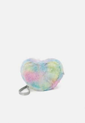 BAG RAINBOW HEART UNISEX - Across body bag - light pink