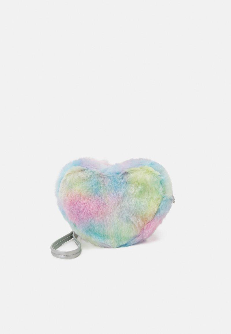 Lindex - BAG RAINBOW HEART UNISEX - Taška spříčným popruhem - light pink