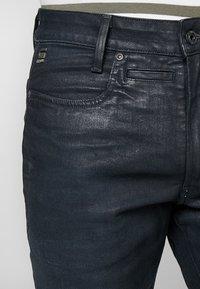G-Star - D-STAQ 3D SLIM - Slim fit jeans - elto superstretch - dk aged waxed cobler - 3