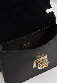 Furla - MINI CROSSBODY BLOCK - Across body bag - rosa/chiaro/nero - 4