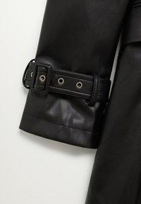 Mango - CLAUDIA - Krátký kabát - black - 8
