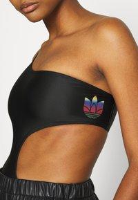 adidas Originals - SWIMSUIT - Swimsuit - black - 5