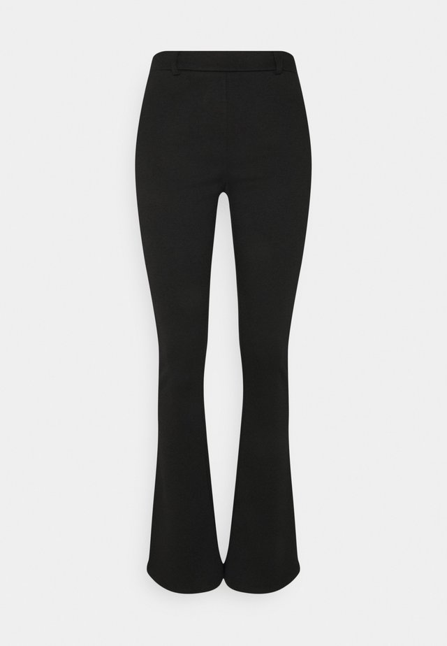 OBJSAVA NICKY PANTS - Tygbyxor - black
