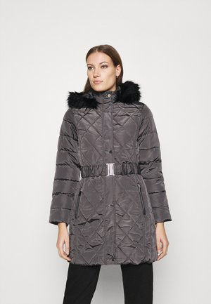 LONG PUFFER COAT - Talvitakki - charcoal