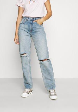 ONLINC ROBYN LIFE - Jeans straight leg - light blue denim