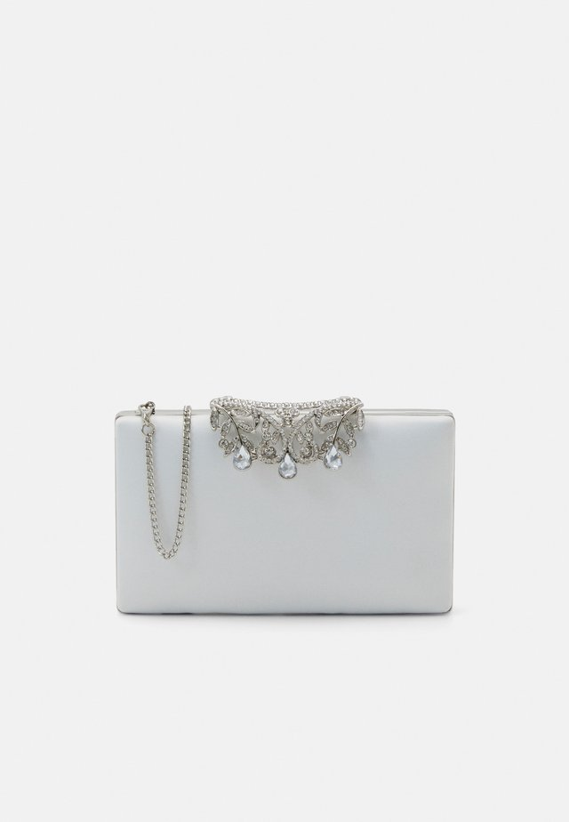MIRAFOLD OVER - Clutch - ivory / silver