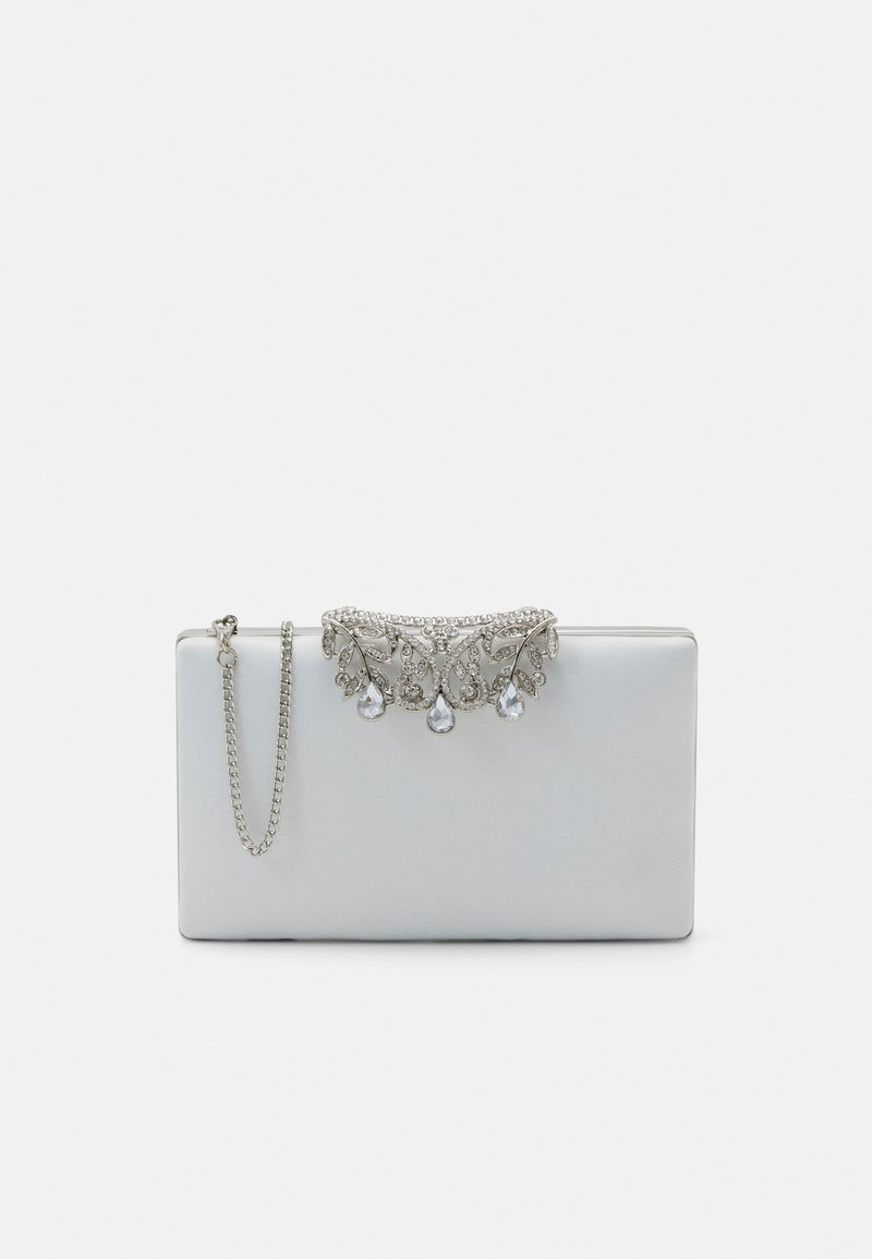 Forever New - MIRAFOLD OVER - Clutch - ivory / silver