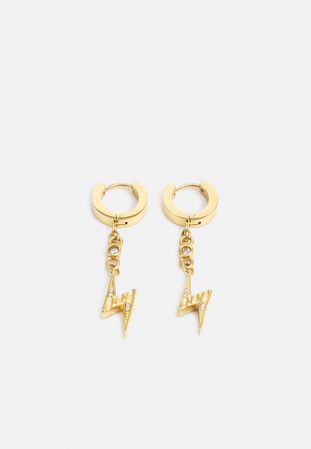 FLASH EARRINGS - Orecchini - gold-coloured