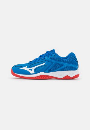 LIGHTNING STAR Z6 JUNIOR UNISEX - Volleyball shoes - french blue/white/fiery red