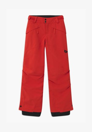 ANVIL PANTS - Snow pants - fiery red