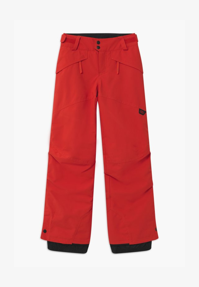 ANVIL PANTS - Ski- & snowboardbukser - fiery red