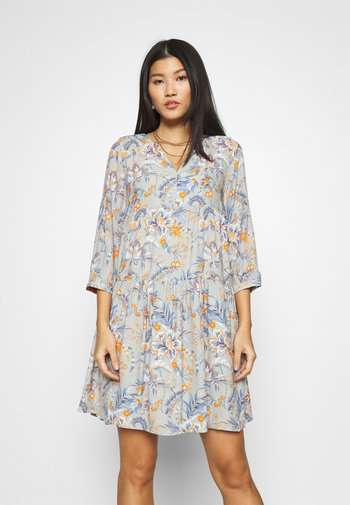DRESS PRINTED - Day dress - sage mint