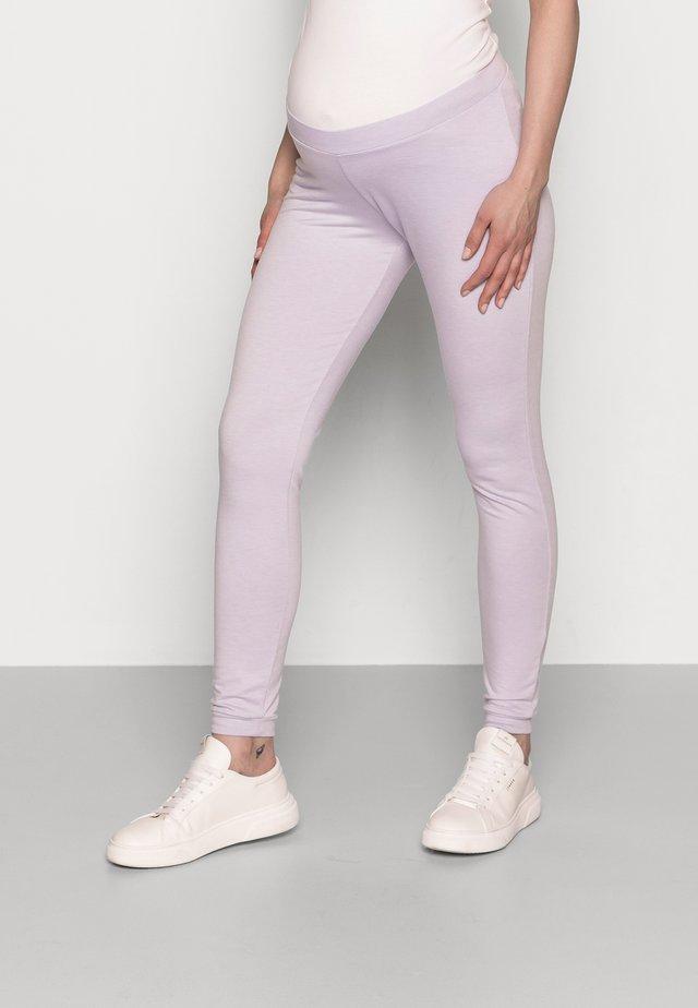 PCMRELAX - Teplákové kalhoty - purple heather melange