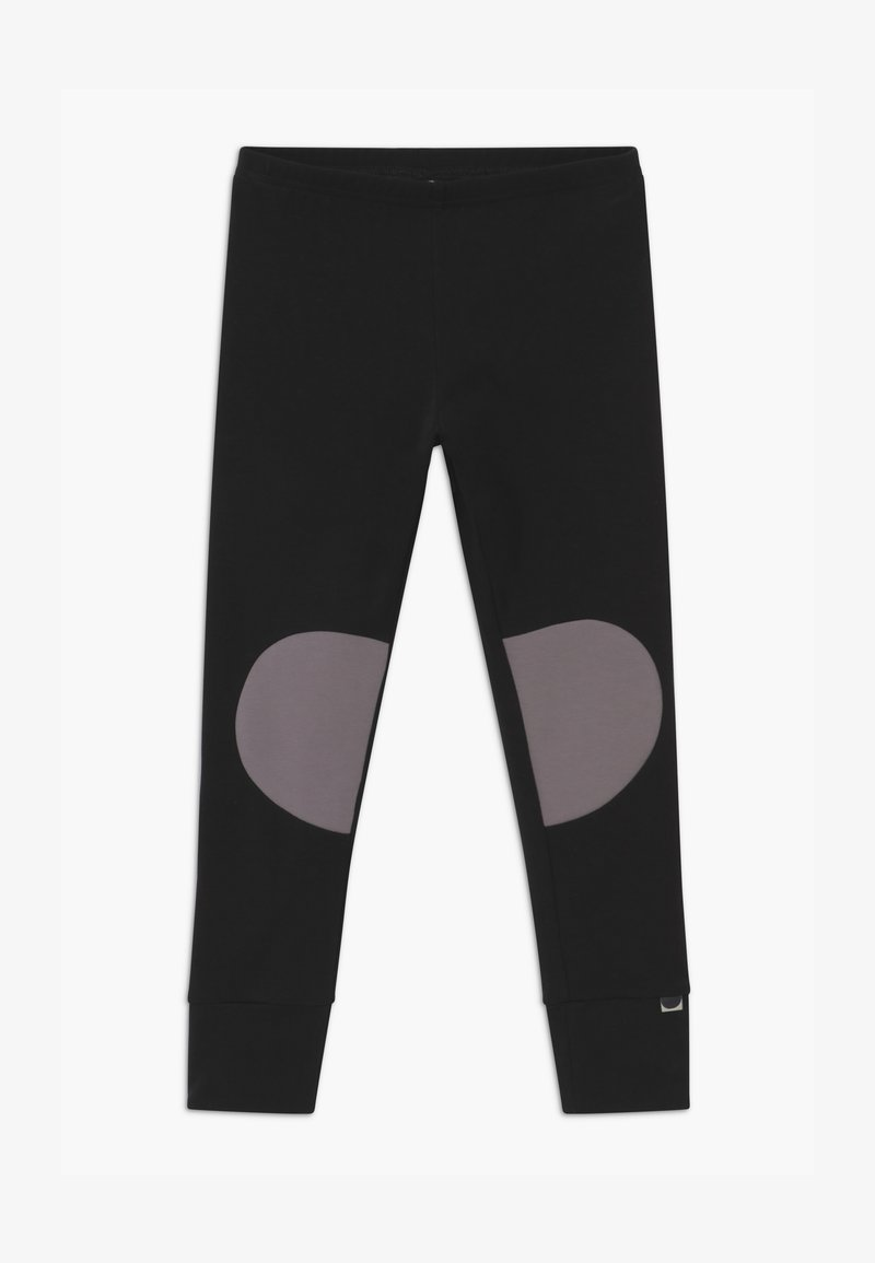 Papu - PATCH UNISEX - Leggings - Trousers - black/stone grey