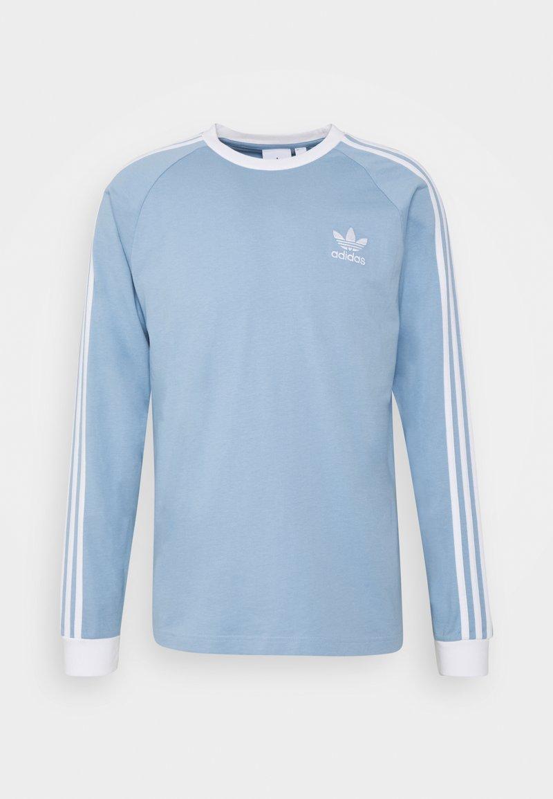 adidas Originals - ADICOLOR CLASSICS TEE UNISEX - Langærmede T-shirts - ambient sky