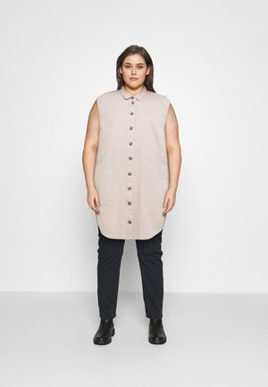 NMALMA CAPSLEEVE DRESS  - Shirt dress - chateau gray