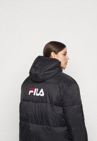 Fila Plus - BRONWEN PUFF HOOD JACKET - Talvitakki - black - 3