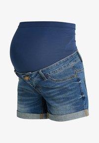 Forever Fit - EXCLUSIVE - Shorts vaqueros - blue - 4