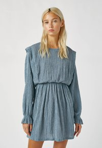 PULL&BEAR - Day dress - blue - 0