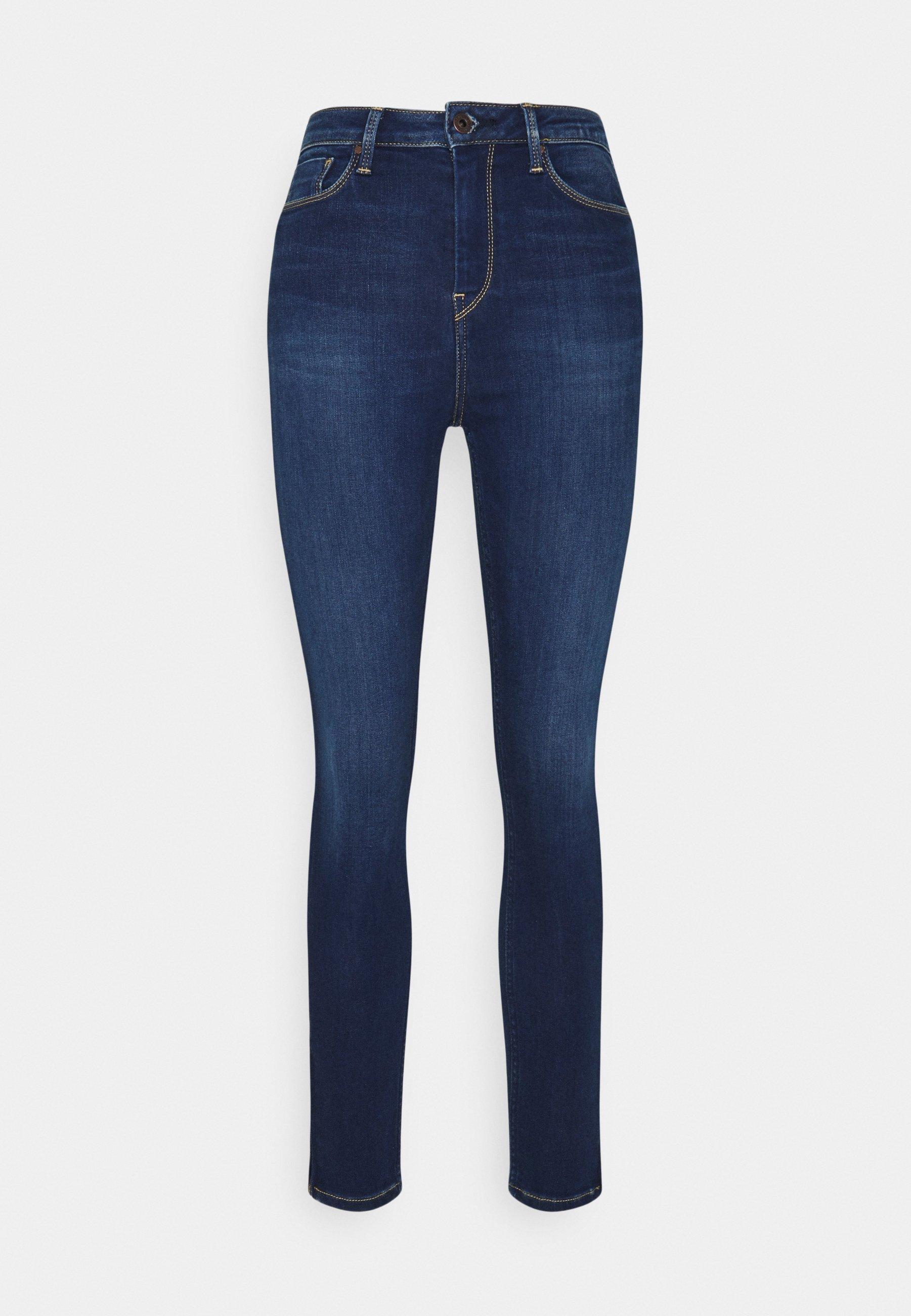 Women DION ZIP - Jeans Skinny Fit