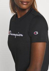 Champion - CREWNECK ROCHESTER - T-shirts med print - black - 5