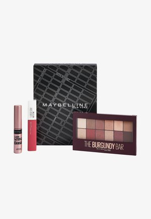 MAKE-UP SET - Make-upset - burgundy bar/very black